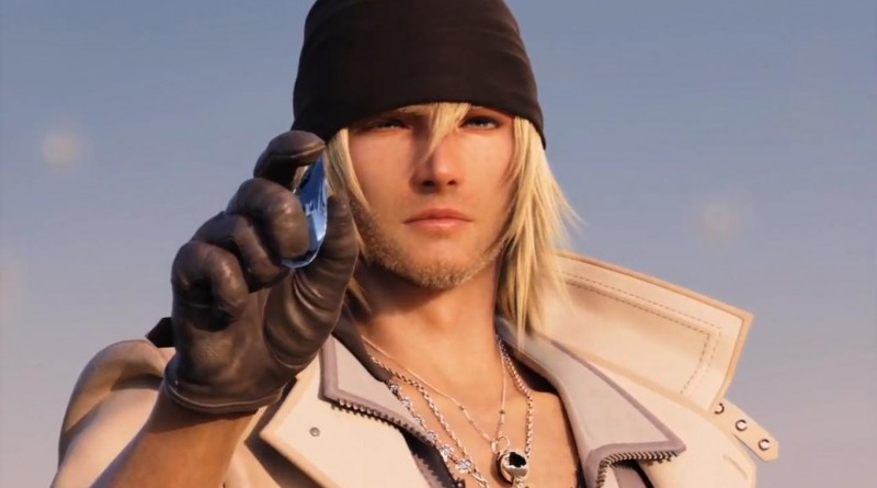 Snow Villiers, en av spillets hovedpersoner, blir utvalgt av en fal'Cie fra Pulse.