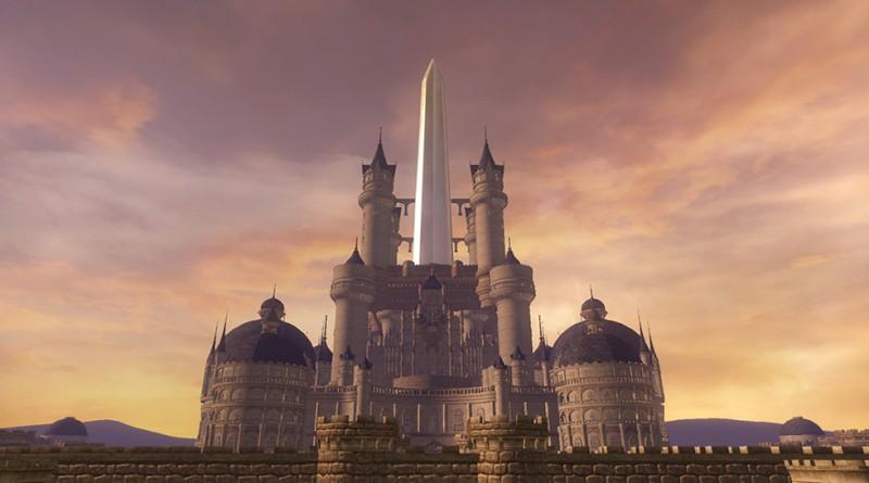 Alexandria fra Final Fantasy IX dukker opp som kamparena i Dissidia Final Fantasy