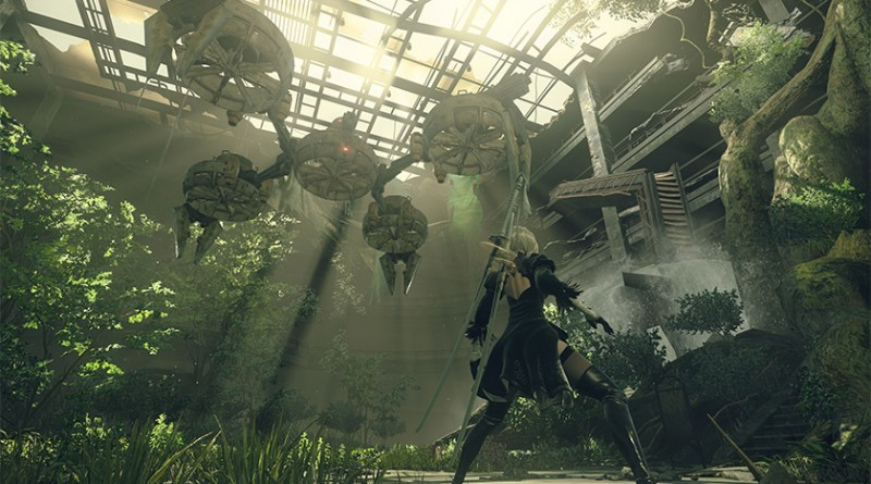 Ny gameplay-trailer fra Nier: Automata