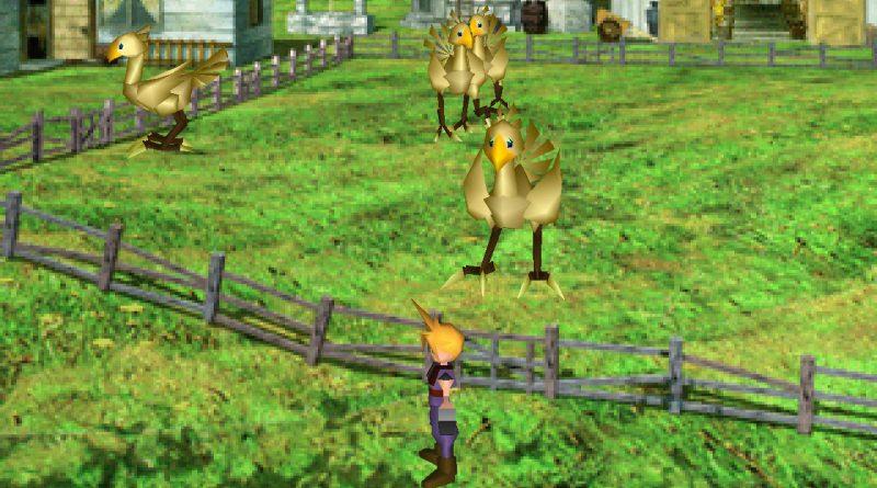 Mu fra Final Fantasy VII kan finnes i området rundt Chocobo Farm
