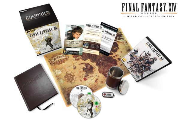 Collector's Edition av Final Fantasy XIV utgitt i dag