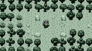 Evoland ligner i begynnelsen veldig på et Gameboy-spill.