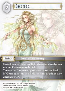 Final Fantasy Trading Card Game - eksempelkort